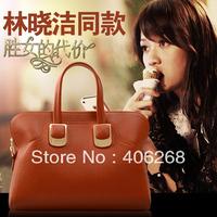 free shipping   2013 new style high quality pu leather brand  women's handbag  fashion shoulder bag