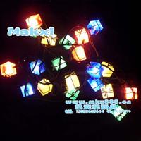 Christmas lights festival lights 28 dangxiang christmas decoration christmas 3.5m gift box lantern