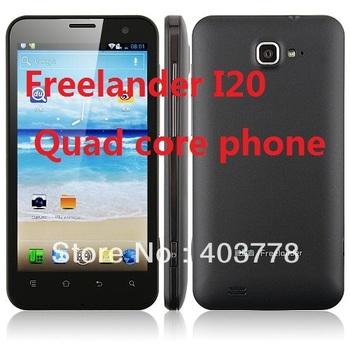New sale Freelander I20 Quad Core wcdma phone 4.7 inch IPS 1gb ram 8G ROM Exnoys 4412 1.4GHZ 13.0MP cameras GPS WIFI Bluetooth