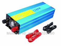 12 VOLT 220VOLT 1500 WATT PURE SINE WAVE INVERTER W/ USB CHARGING PORT