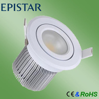 saa ce rohs approved cob dimmable 10w led downlight