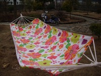 Outside sport casual travel unflattering high quality printed cloth hammock