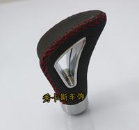 Free shipping 2014 new hot deals MOMO manual transmission gear shift knob / leather gear head