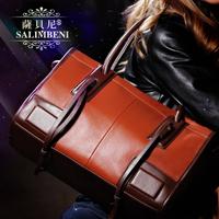 The trend of female bags women's vintage leather handbag shoulder bag cross-body bag
