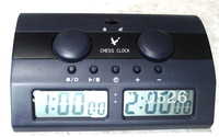FREE SHIPPING! GO CHESS GAME TIMING IS SPECIAL MASTER TOURNAMENT DIGITAL CHESS SET  CLOCK LCD TIMER