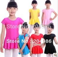 Leotard Children latin dance skirt  Kids dance wear many color opinion Latin skirt girl dance wear fast free worldwide SM005