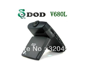 Original DOD V680L Car DVR Recorder 1440*1080 Car Black Box built-in G-sensor with 120degree wide