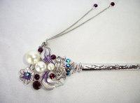 Oriental vintage hair sticks/ hair pin/ Bridal headpieces/ bridal wedding hair stick/ Chinese hair sticks