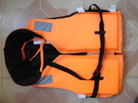 Professional carry a whistle whisted life vest belt cord lock adult life vest snorkeling life vest