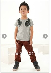 free shipping Rock Music baby boys summer clothes wholesale 6pcs/lot 1171 baby tshirt(China (Mainland))