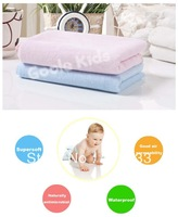 Free shipping wholesale GOOLEKIDS baby waterproof urine pad 20% cotton + 80% bamboo fiber Supersoft and Good air permeability L