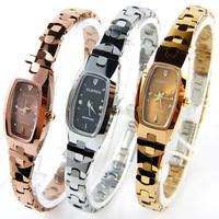 Tungsten steel rose gold rhinestone waterproof ladies watch bracelet ultra-thin fashion women's watch