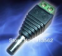 20pcs 2.1mm CCTV camera DC Power Male Jack Connector