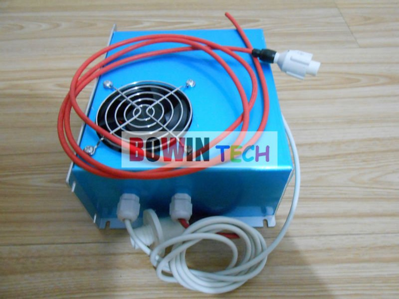 Запчасти для лазерного оборудования BOWIN co2 DY10 reci co2 DY10 reci laser power supply 50w co2 laser tube working for 60w co2 laser engraving machine