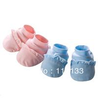 Free shipping wholesale GOOLEKIDS 100% pure cotton 2013 Newborn baby socks Super soft infant booties