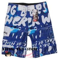 FREE SHIPPING Men Boy Boardshorts Beach wear Swim Pants Swimwear Surf Board Shorts Quick Dry Polyester SZ 30 32 34 36 38 9123