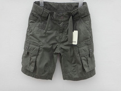 free shipping2013 summer boy cargo shorts cargo pants boys casual overalls3pcs/lot(China (Mainland))