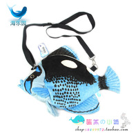 Butterfly fish ocean animal cross-body handbag bags fashionable casual girl birthday gift