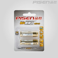 PISEN aa5 alkaline battery card 2 1.5v card electric suprenergic core alkaline dry battery