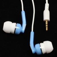Free Shipping 2.5 ear rpuf earphones mp3 earbud 2.5mm connector ostinatos stereo music mobile phone heatshrinked