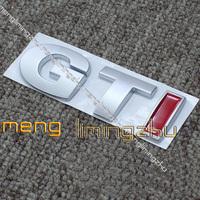TOP NEW Metal Red GTI Centennial Badges Emblem Boot