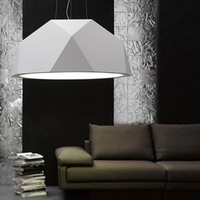 Fabian luxury diamond white/black 60cm ceiling lamp light lighting bedroom sitting room ems free shipping