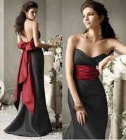 Stock New Bridesmaid Gown Party Ball Dress SIZE 6-16