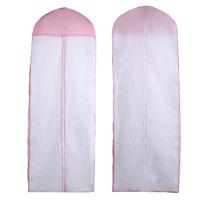 155cm lengthen powder non-woven wedding dress formal dress dust cover dust bag wedding dress dust cover