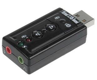 Encoding 7.1 audio surround stereo mini 3d usb sound card cm119 chip(China (Mainland))