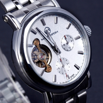 Wholesale online Cutout five-pin fully-automatic men and women watches mechanical fashion commercial a0892