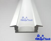 DHL/FEDEX/EMS Free shipping-Light bar aluminium housing,Led light bar metal housing, SMD LED light heatsink housing shell case