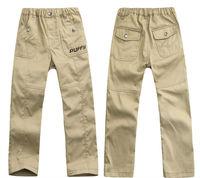 Wholesale 3 pcs spring autum grey khaki children boy kids baby casual fit slim cotton pants trousers clothing clothes PECS22P69
