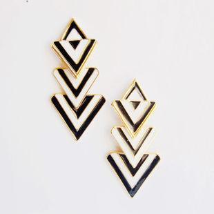 New fashion geometrical drop earring,punk geometrical earring