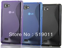 p880 tpu case,S Line Soft TPU Gel Case for LG Optimus 4X HD P880 Free Shipping