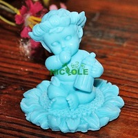 3D cute BABY Bottle handmade soap mould polymer clay food chocolate paste mould r1055 cake cookie mold