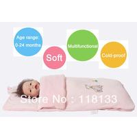 Free shipping wholesale GOOLEKIDS velvet holds baby parisarc blankets Autumn and winter newborn holds blankets baby sleepsack