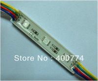 RGB led module led pixel moudle  3pcs SMD5050  DC12V 0.72w decoration moudles waterproof  advertisement moudle