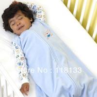 Free shipping wholesale GOOLEKIDS 100% pure cotton summer sleeveless baby sleeping bag with foot type Newborn baby sleepsack