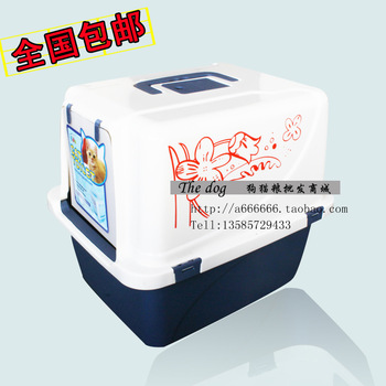 Luxury puplike cat toilet closed cat toilet litter box Large cat