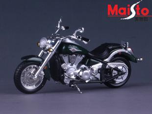 free shipping export KAWASAKI alloy vulcan motorcycle model toy 1:18 14cm