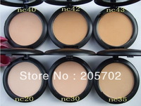 Freeshipping + NEW Studio fix powder plus foundation +powder puffs 15g(1PCS)