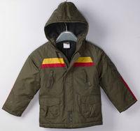 Wholesale 5 pcs spring Autumn winter khaki Children child Boy Kids baby hoody hooded cardigan Coat jacket outwear top WM0059
