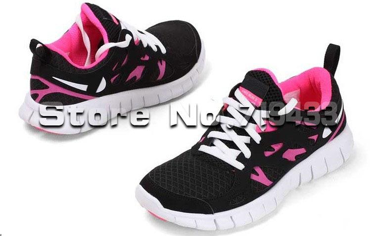 Nike free run 2.0 womens black