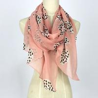 Hot fashion elegant scarf cape 180*70cm women's faux silk velvet chiffon georgette casual ultra long silk scarf free shipping