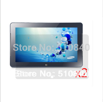 2PCS LCD Clear Screen Protector Film Films Guards For Samsung Smart PC Pro XE700T 11.6' Tablet +Free shipping