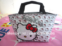 New White cute Girls PURSE Hello kitty lunch bag #48