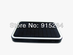 Hot Sale ABS 3000mAh Mobilephone Solar Charger Portable Power Bank Battery Free Shipping(China (Mainland))