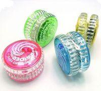 Children Toy luminous youyou ball Yoyo Ball Classic toys Flash Yoyo Fun Hobbies free shipping 5 pcs wholesale