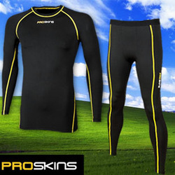 Pro skins ride service ultra elastic straitest compression clothing marathon running jogging long-sleeve(China (Mainland))