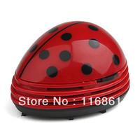 Mini Desk Vacuum Cleaner Table Vacuum Computer Vacuum Table Cleaner - (Red)